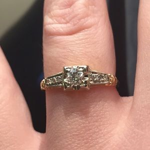 Jewelry - Art Deco Engagement Ring
